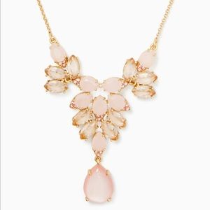 NWT- Kate Spade Blushing Blossoms Mini Necklace